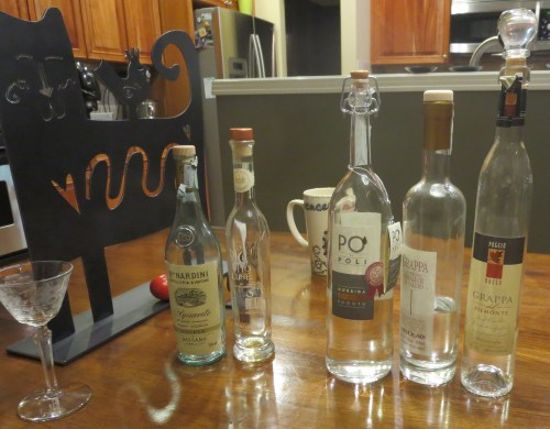 The living and the dead. Grappa supply depletion.