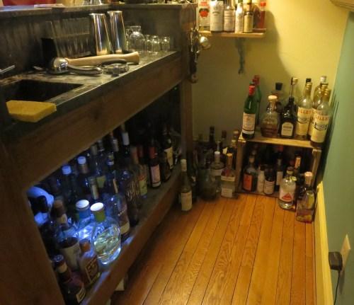 Plenty of room for more liquor