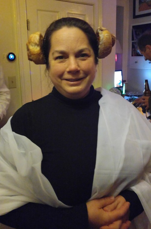 Best of all: Laura as Leia