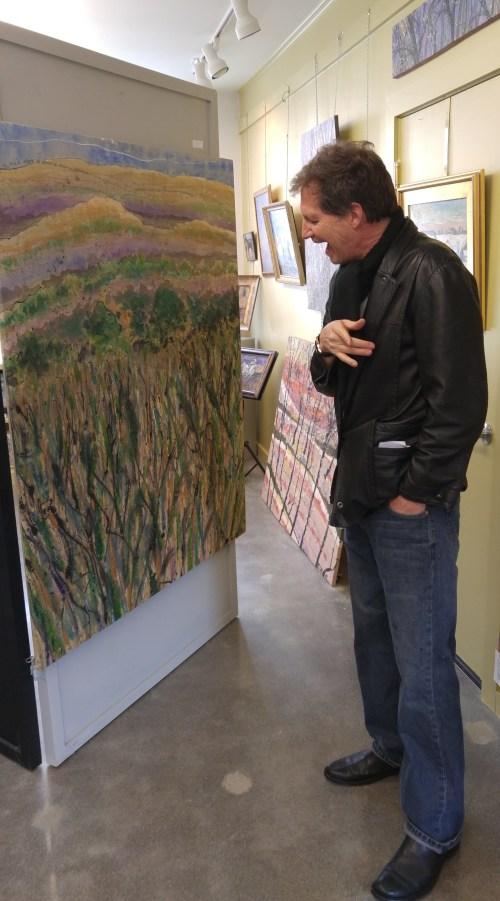 Keith explains his art