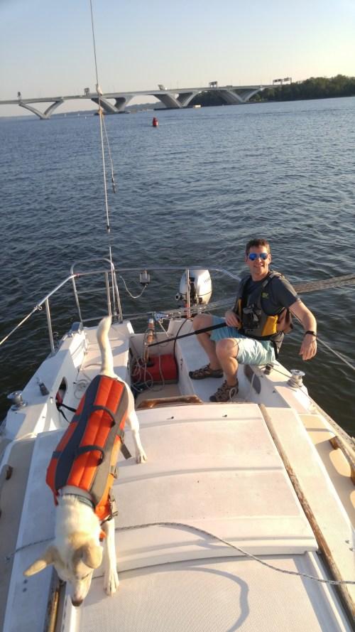 Sailing Practice with Team Tartan
