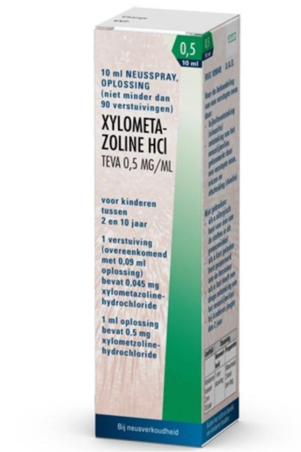 Xylometazoline neusspray 0,5mg/ml