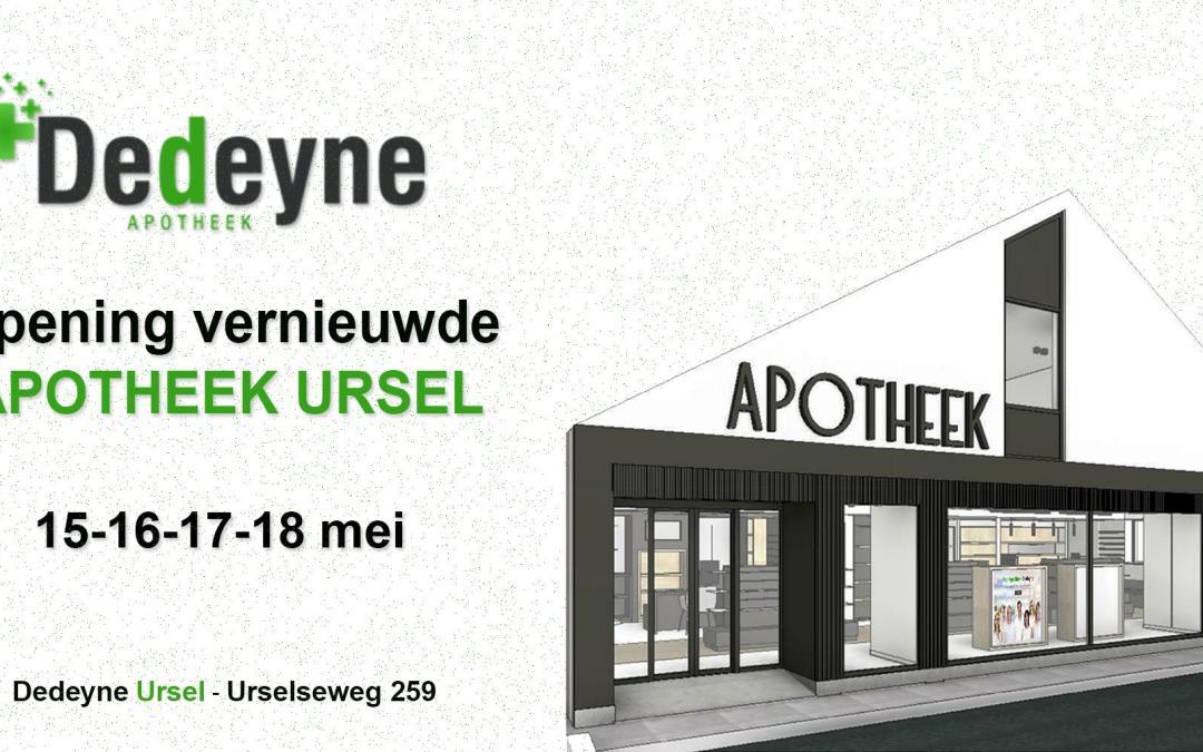 Opening vernieuwde apotheek Ursel