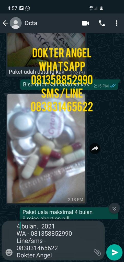 foto obat cytotec 4 bulan