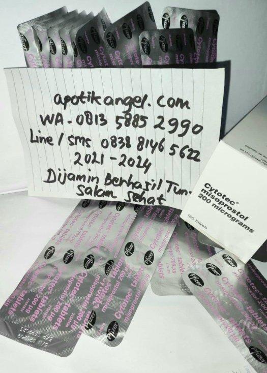 Foto obat aborsi asli - Dokter Angel WA 081358852990