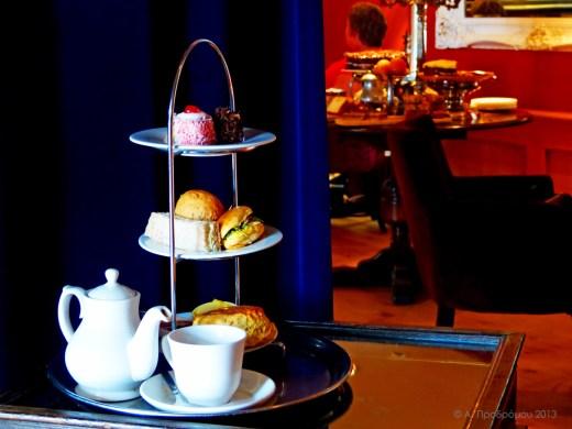 Τσάι στο κάστρο, κάστρο Εδιμβούργου, Εδιμβούργο, Σκωτία, Βρετανία (The castle - Tea at the castle, Edinburgh castle, Edinburgh, Scotland, UK).