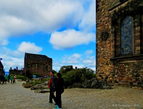 Κάστρο Εδιμβούργου, Εδιμβούργο, Σκωτία, Βρετανία (The castle - Edinburgh castle, Edinburgh, Scotland, UK).