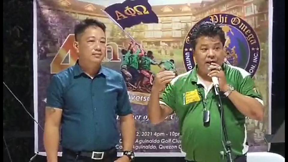 Brother President Danton Pajarillaga's Speech