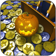 Coin Dozer: Halloween Gameplay