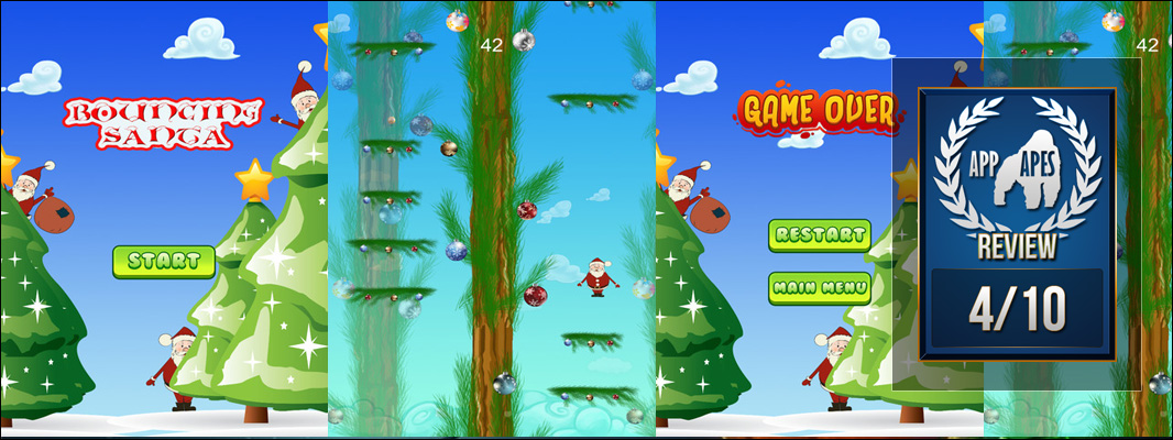 Bouncing Santa HD Review
