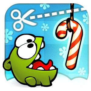 Cut the Rope: Holiday Gift Gameplay