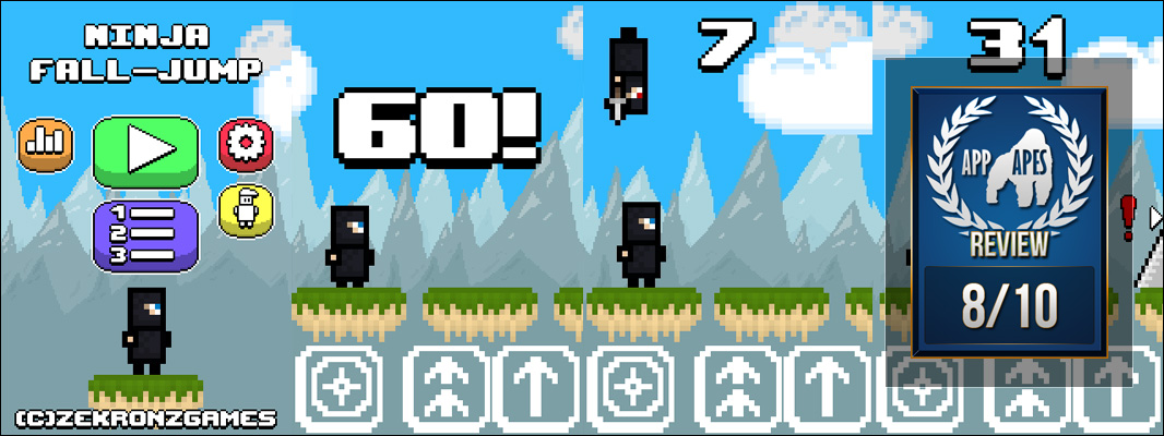 Ninja Fall-Jump