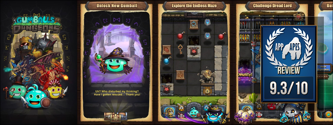 Gumballs & Dungeons Review
