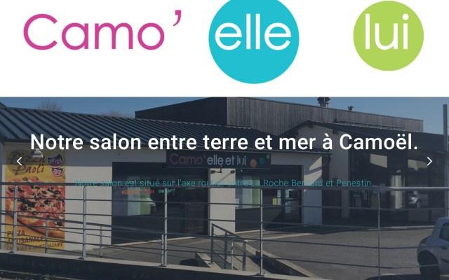 Salon de coiffure à Camoël