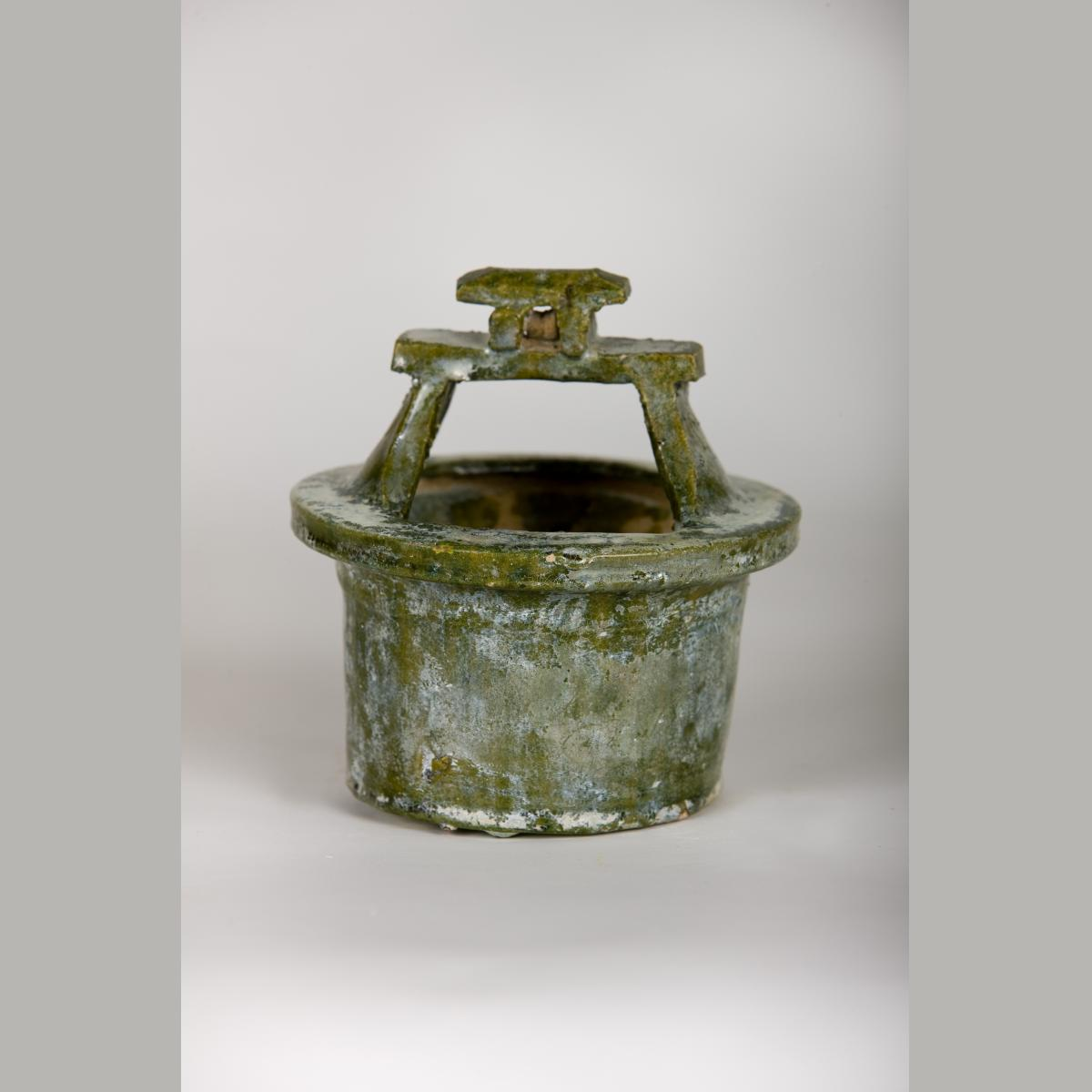 Ancient Chinese Han Dynasty Well Model