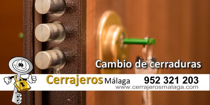 Cambio de cerraduras en Málaga