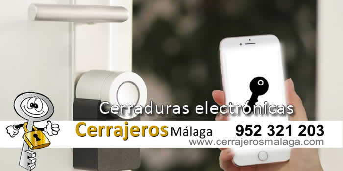 Cerraduras electrónicas en Málaga