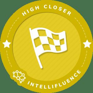 HISYAMUDIN FADZIL's High Closer Badge