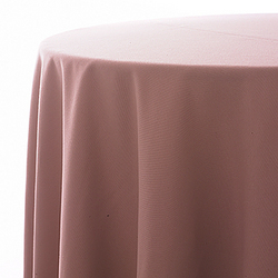 """Tablecloth, dusty rose, poly, 90"""" round"""