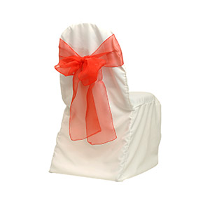 anna chair cover & wedding linens rental burnaby bc steel two seater sash red chiffon 7 quotx108 quot lonsdaleevents