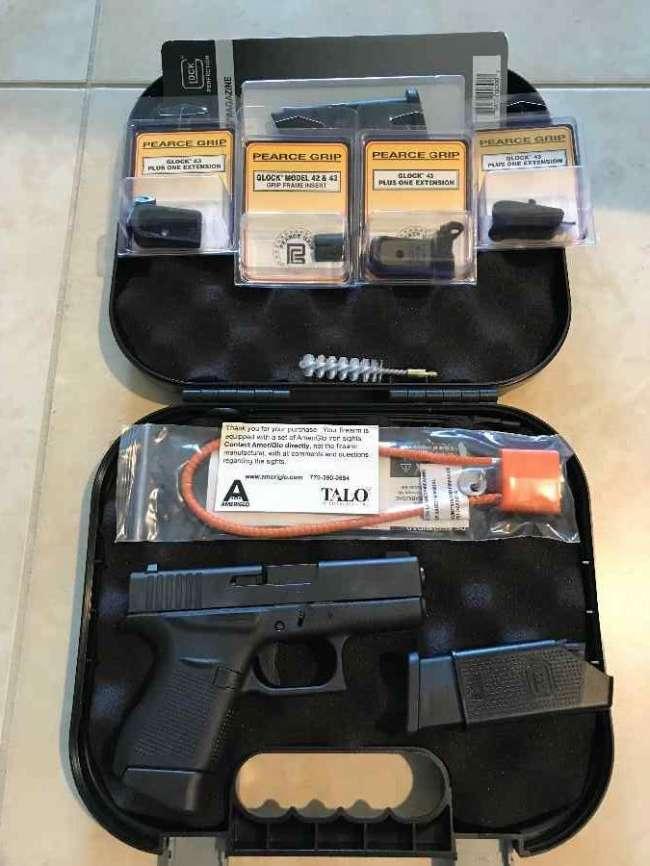 glock 43 talo with