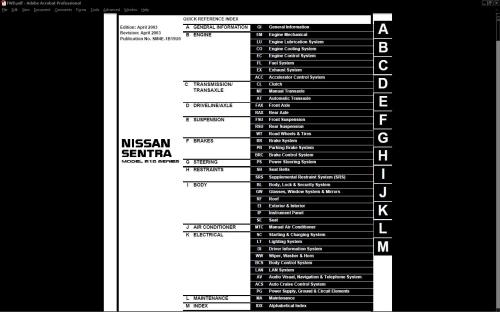 small resolution of nissansentra shop service manual orig 210 frontpage 953f8 jpg