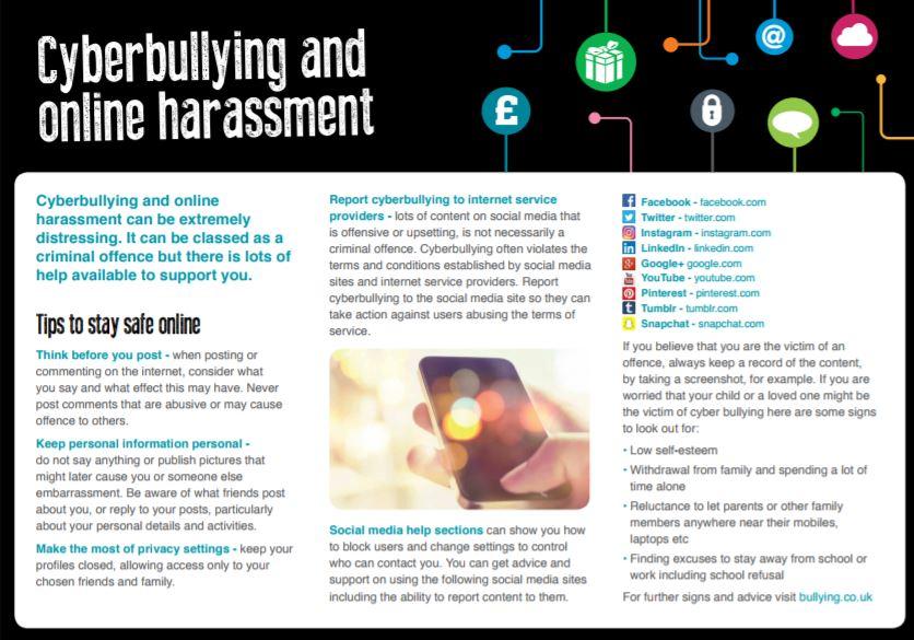 Bullying On Social Networks Family Lives