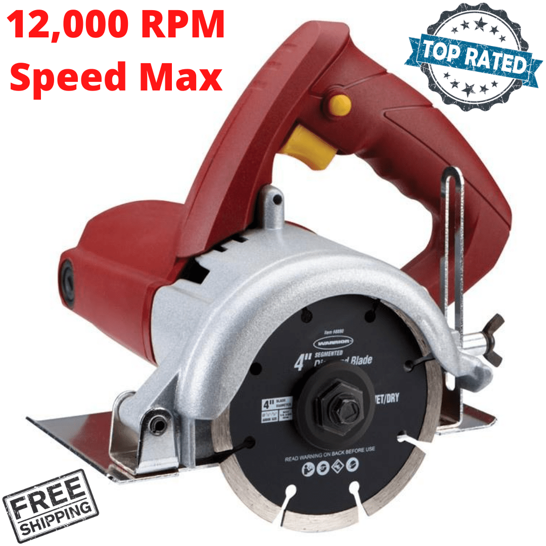 tile cutter saw dry cut 4 inch handheld