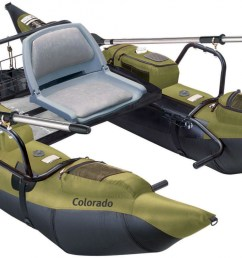 colorado pontoon fishing boat with wire rear storage and battery platform tool [ 1500 x 790 Pixel ]