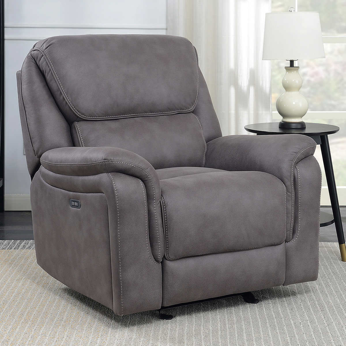 glider recliner chair office arms or not gates fabric power no sales tax ebay details about