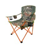 Details About Oversized Quad Chair Folding Seat Outdoor Camping Hunting Fishing Camo 300lb Cap