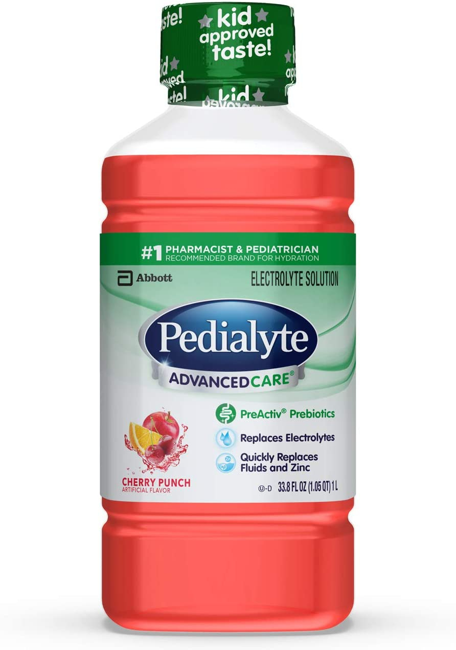 Pedialyte AdvancedCare Electrolyte Solution 1 Liter 8 ...