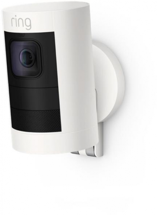 RING Wireless Standard Security Camera Stick Up Cam Battery Indoor/Outdoor White   eBay
