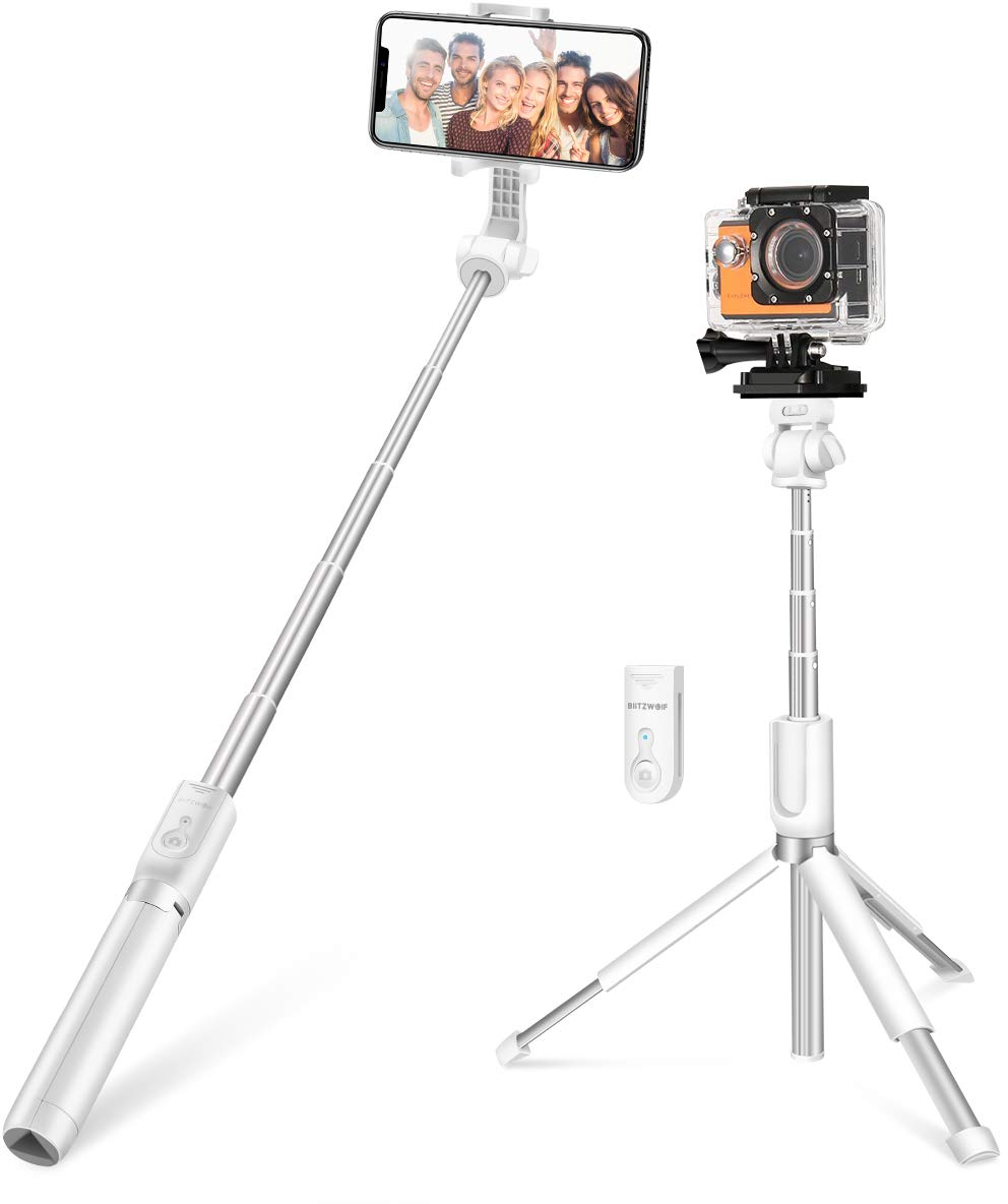 Selfie Stick for Cameras, Gopro, iPhone, Android