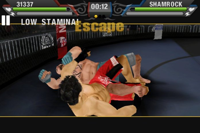 MMA by EA SPORTS™ Needs To Spend Some More Time In The Gym