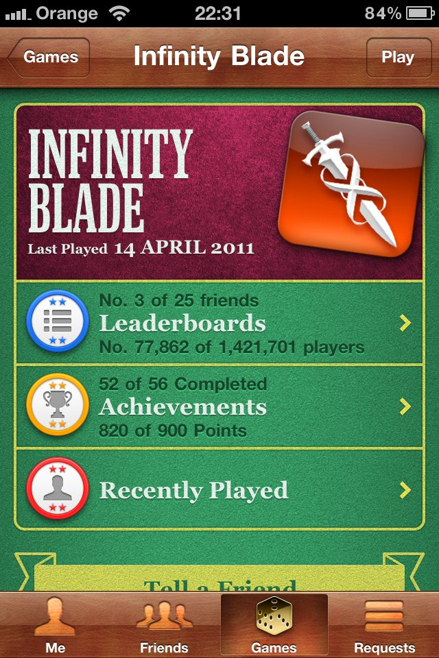Infinity Blade Is A Game Of 'Epic' Proportions