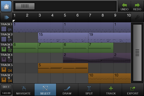 beatmaker 2 is a powerful dms for those with the wallet will to rh appaddict net iPad Beat Maker 2 BeatMaker 2 Sampling