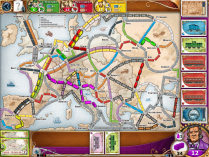 Ticket to Ride Europe Retina enhanced