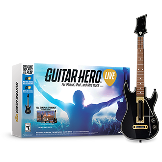 Guitar Hero Live's Physical Controller Bundle Will Make You Feel Like A Rock Star On Your iOS Device