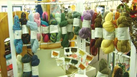 68 - Nancy Shedden - natural wool yarn