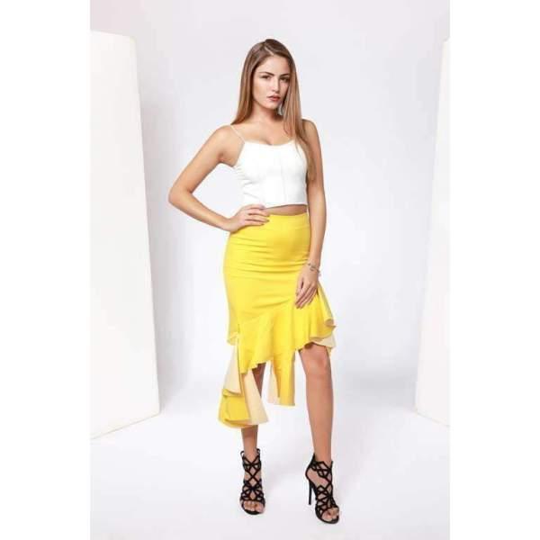 Sandstorm Ruffle Skirt
