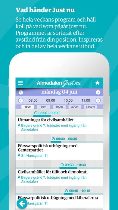 App – Almedalen Just Nu