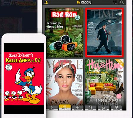 Readly tidningar appar.se