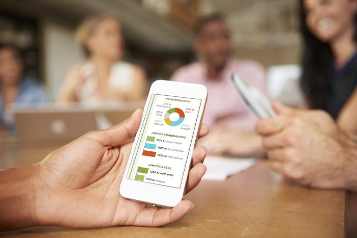 Företag utvecklar app för fördjupad information om energianvändning