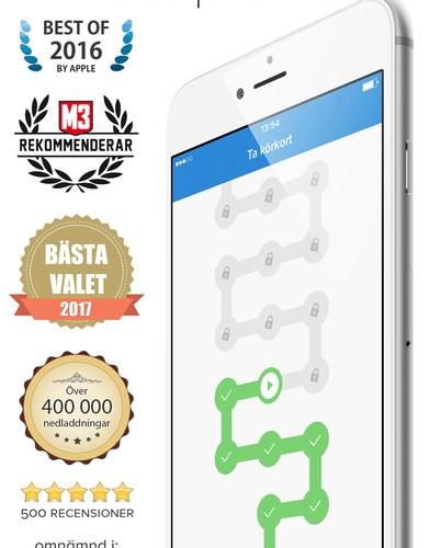 App för att ta körkort