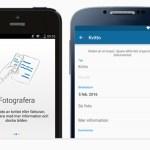Visma Scanner – skanna kvitton och fakturor med din mobil