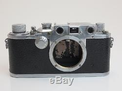 Leitz Leica III c 372103 Fl 38079 1941 Luftwaffe Berlin red curtain sf170
