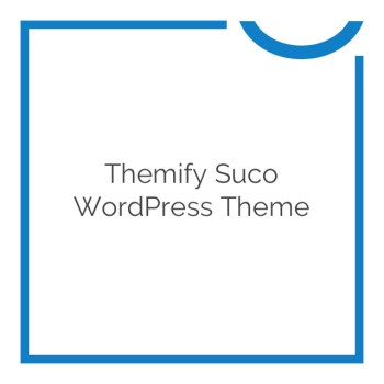 80 % OFF Themify Suco WordPress Theme