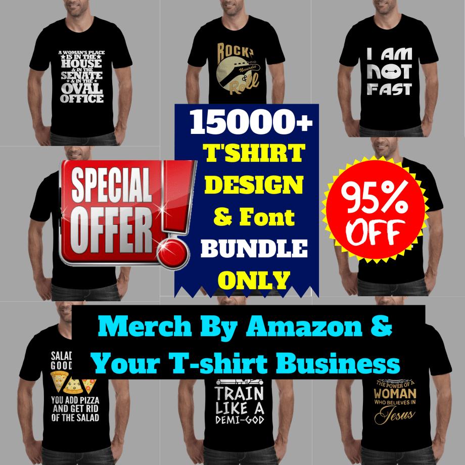 15000+T-shirt Design Mega Bundle Cheap Price 2020