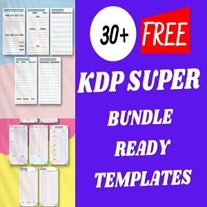 30+ KDP super bundle ready templates Free Download